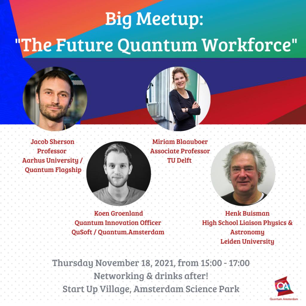 Big Meetup The Future Quantum Workforce Instagram